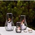 Holmegaard Design With Light Lanternesæt smoke 16/25/29 cm
